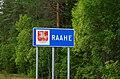 Raahe municipal border sign 20190802.jpg