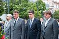 Radimir Cacic Zoran Milanovic Ivan Jakovcic 16 obljetnica vojnoredarstvene operacije Oluja 04082011 5031-2.jpg