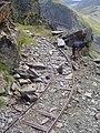 Rails de la mina abandonada (agost 2006) - panoramio - EliziR.jpg