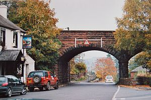Lazonby - Image: Railway Bridge, Lazonby geograph.org.uk 993191