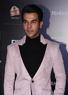 Rajkummar Rao Indian film actor