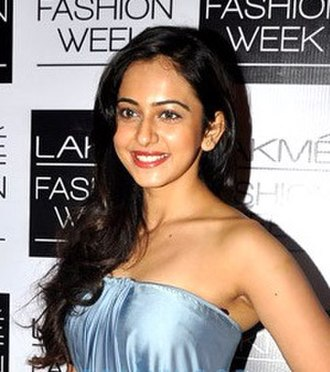 Rakul Preet Singh - Singh at the Lakme Fashion Week