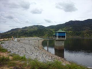 Rambakan Oya Dam dam in Maha Oya
