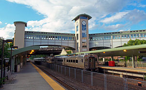 The Ramsey Route 17 NJTransit Station serves Main Line and Bergen County Line trains, as well as select Port Jervis Line trains.