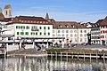 Rapperswil - Fischmarktplatz - Seedamm 2011-02-10 14-56-54.JPG