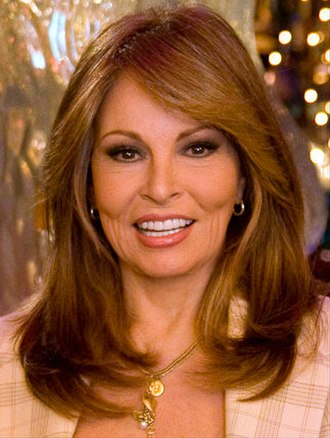 White Americans - Actress Raquel Welch of Spanish (via Bolivia) and English ancestry back to the Mayflower.