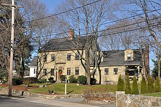 National Register of Historic Places listings in Reading, Massachusetts - Image: Reading MA Joseph Bancroft House