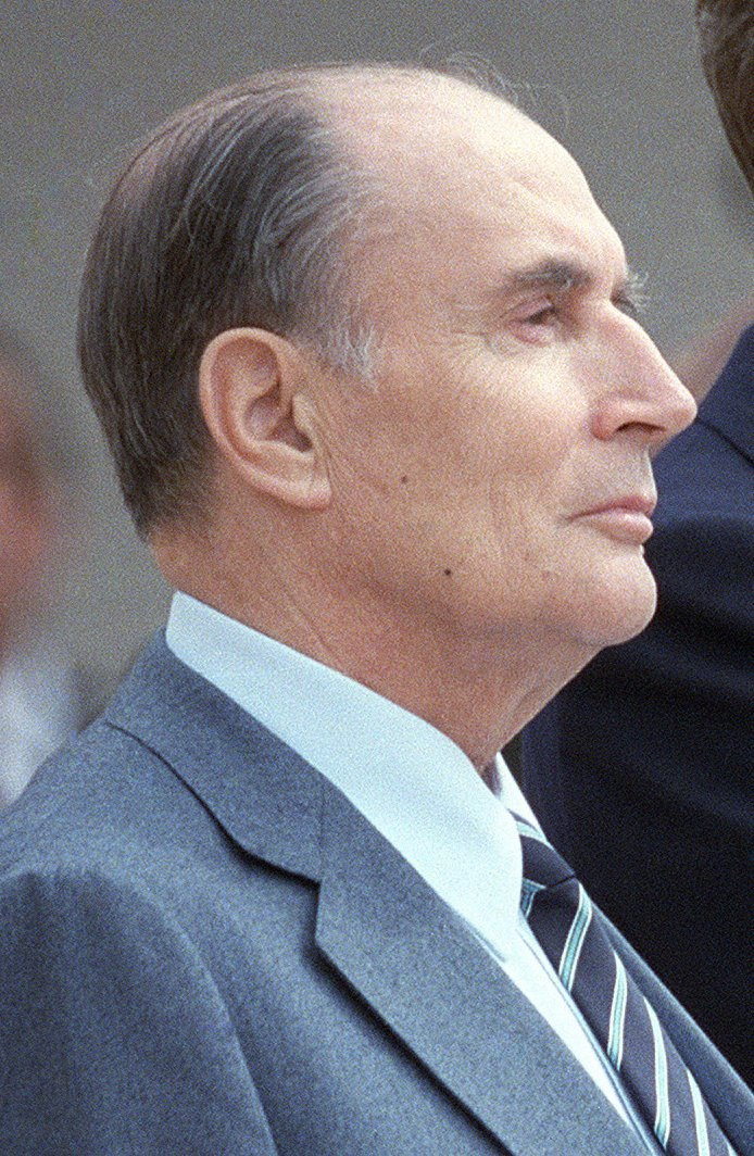 Reagan Mitterrand 1984 (cropped 2)