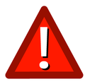 Red triangle alert icon.png