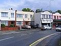 Redbridge,Ilford. Flat roofed houses.jpg