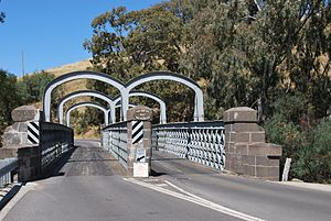 Redesdale, Victoria - The unique Redesdale bridge