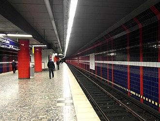 Reeperbahn station - Reeperbahn station