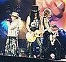 Reformation des Guns N' Roses , photo exceptionnelle des trois précurseurs du groupe mythique.jpg