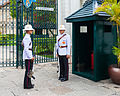 Regimiento Primero de Infantería de la Guardia Real, Gran Palacio, Bangkok, Tailandia, 2013-08-22, DD 03.JPG