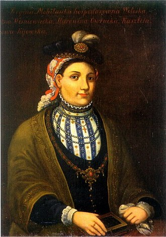 Jeremi Wiśniowiecki - Regina Mohyła, Jeremi's mother