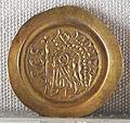 Regno longobardo, emissione aurea di aistolfo, zecca di pavia, 749-756, 02.JPG