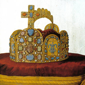 Hoop crown - Hoop crown of the Holy Roman Empire