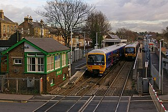 Reigate railway station - Image: Reigate station 2