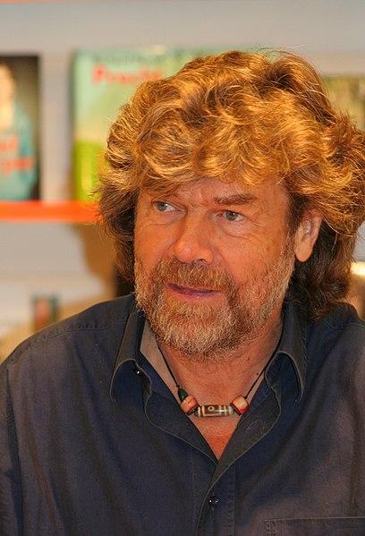 Soubor:Reinhold Messner in Koeln 2009.jpg