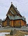 Reinli stavkyrkje Stave-Church Norway 2017-03-28 10.jpg