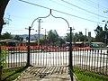 Reja de la plaza en Los Carrera - panoramio.jpg