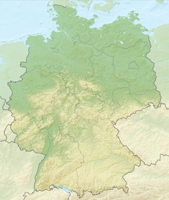 Location map Germany