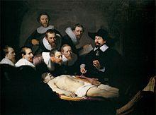 Rembrandt, Lezione di anatomia del dottor Tulp (1632)