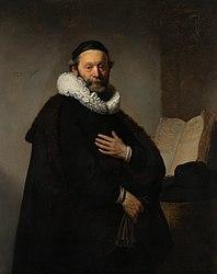 Rembrandt: Portrait of Johannes Wtenbogaert