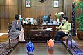 Retno Marsudi and Christine Schraner Burgener talks about Myanmar's coup d'état.jpg