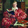 Retrato de K. B. Kustódiev por Borís Kustódiev.jpg
