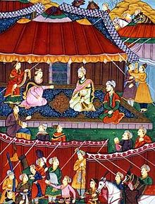 Reunion of Khanzada Begum and Babur.jpg