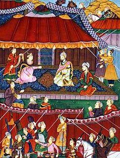 Khanzada Begum Elder sister of Emperor Babur