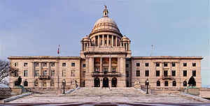 Rhode Island State House - South facade
