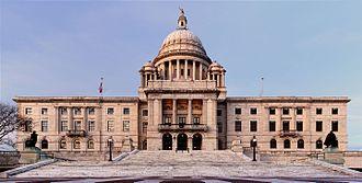Rhode Island State House - South facade