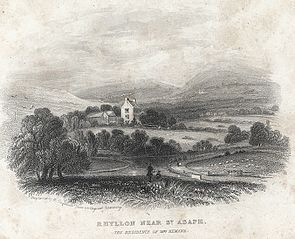 Rhyllon near St. Asaph. The residence of Mrs. Hemans