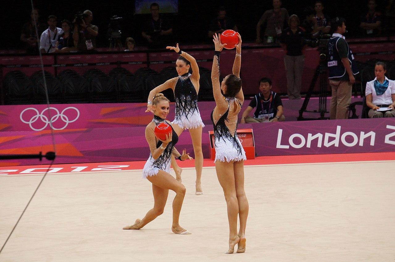 Anna Gurbanova in FIG Rhythmic Gymnastics Olympic