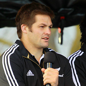 English: New Zeland rugby union player Richie ...