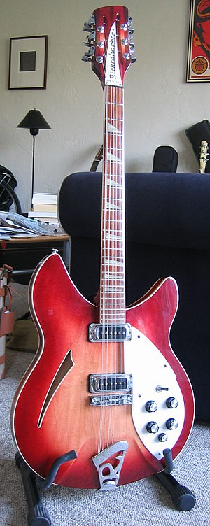Electric twelve-string guitar -  Rickenbacker 360/12