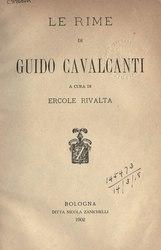 Guido Cavalcanti: Rime