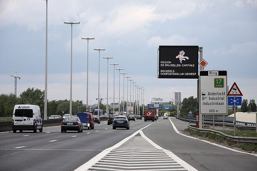 Ringroad Brussels @ EXIT 17 (Anderlecht-Industrie)