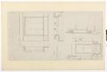 Ritning stora salongen, Hallwylska palatset - Hallwylska museet - 102165.tif