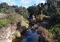 Riu d'Alcalà o Girona al costat del despoblat morisc de l'Atzuvieta.JPG