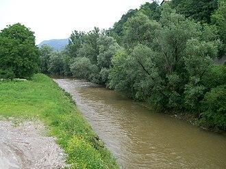 Krapina (river) - River Krapina near Zaprešić