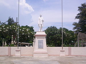 Argao - Image: Rizal statue in Argao