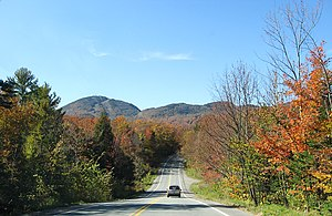 Orford, Quebec - Image: Road to Orford panoramio