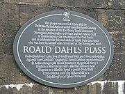 Roald Dahl Plass plaque.jpg