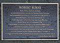 Robert Burns memorial plaque in Dunedin.jpg