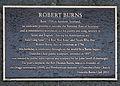 Robert Burns memorial plaque in Dunedin.jpg