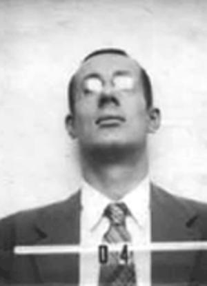 Robert Cornog - Cornog's ID badge photo from Los Alamos.