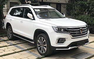 Roewe RX8 Chinese mid-size SUV